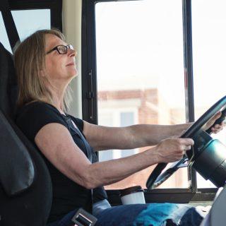 bus steering wheels
